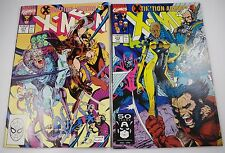 X-MEN #271 9.0, #272 9.6 JIM LEE
