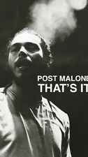 Post Malone 24x36 Poster White Iverson CONGRATULATIONS HIP HOP ARTIST Rockstar!!