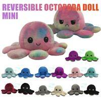 Reversible Emotion Octopus Simulation Poulpe Animals Stufed Plush child Doll Toy