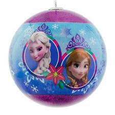 Disney's Frozen Anna & Elsa Ball Christmas Ornament by Hallmark NEW