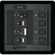 Blue Sea 1522 360 Panel Dual Bilge Pump Control