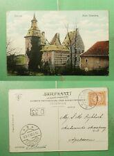 DR WHO 1909 NETHERLANDS HEERLEN POSTCARD TO APELDOORN  g20779