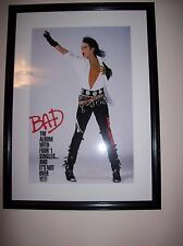 Michael Jackson framed picture