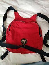 Kipling Red Vest Shape Backpack