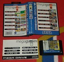Mega Games 6 SEGA Megadrive genuine complete tested free p+p VGC
