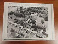 Vintage Wire AP Press Photo The King Elvis Presley Graceland Mansion Aerial #2