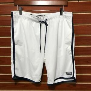 NEW Men's AE Active Performance Mesh Shorts w/ Pockets White MED