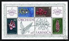 Jamaica 1973 Orchids MS SG 379 MNH