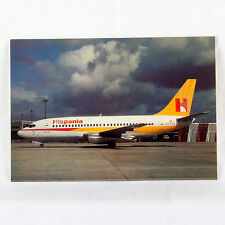 Hispania Airways - Boeing 737-200 - EC DVN - Aircraft Postcard - Mint Condition