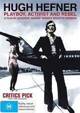 Hugh Hefner: Playboy Activist and Rebel NEW R4 DVD
