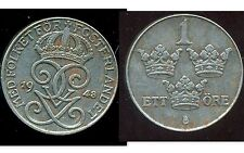 SUEDE  1 ore  1948  ( fer)