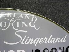 Slingerland White 70's 80's Vintage Logo Replacement
