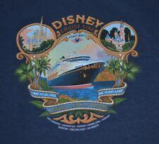 Disney Cruise Line DCL Panama Crossing Small Dark Blue Tee Shirt New No Tags
