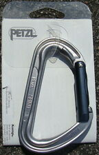 Petzl Spirit Aluminum Carabiner  Straight Gate