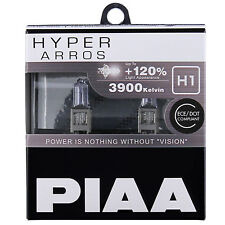 PIAA Hyper Arros H1 Car Replacement Headlights Globes (Twin Pack) HE902