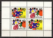 Dutch Antilles - 1977 Youth welfare Mi. Bl. 6 MNH