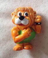 Kinder Surprise Egg Collectable Leo The Lion 1993 Ferrero Strong Man Toy Safari