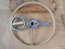 1940 Chevy DELUXE SPINNER STEERING WHEEL Original Chevrolet Accessory GM