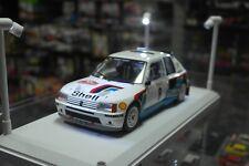1:18 Ixo - Peugeot 205 T16 - Rally Monte Carlo 1985 - Bruno Saby