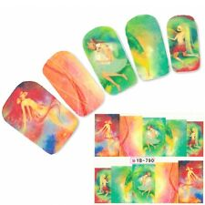 TATTOO NAIL ART anime fata adesivi unghie sticker MANGA GIAPPONE WATER decall
