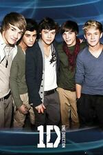 ONE DIRECTION POSTER BLUE 2
