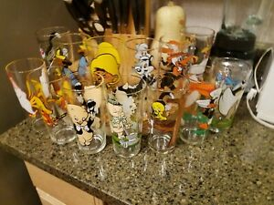 13 Warner Bros Looney Tunes Pepsi 1973 / 1976 Tumblers Glasses