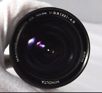 Used Minolta 28-85mm f3.5-5.6 Lens For Parts or Repair (SN 31201480)
