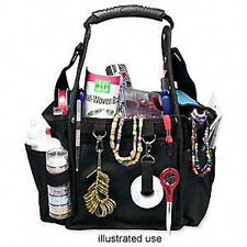 Tool tote bag organizer black/blue with handle16x11x9in