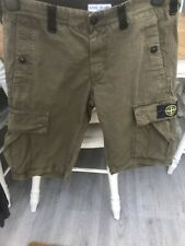 Boys Stone Island Shorts 14