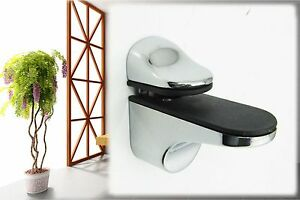 Shelves Support Brackets Clamps For Glass Wooden & Acrylic Shelves (Brackets)