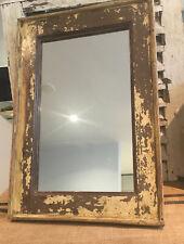 Antique Vintage Salvage Indian Mughal Art Deco Mirror Original