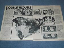 "1978 Tech Info Article on Gale Banks Chevy Twin-Turbo Package ""Double Trouble"""