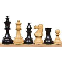 Reproduced French Lardy Staunton Chess Pieces set - Weighted Wood - 4 Queens