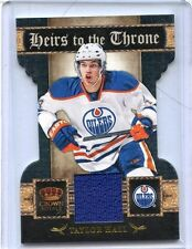 2011/12 PANINI CROWN ROYALE TAYLOR HALL PLAYER/WORN