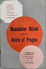 More details for manchester united v dukla of prague european cup 1957/8 munich season with token