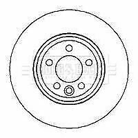 BORG BBD4130 BRAKE DISC Front