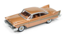1/64 AUTO WORLD VINTAGE MUSCLE 5A6 1958 Plymouth Fury in Copper Glow