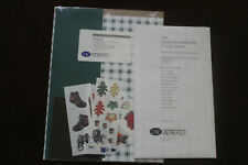 Creative Memories Wilderness AND Assorted Prints Photo Mounting 1/2 sheets PACKS