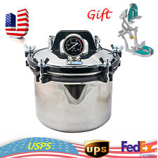 US 8L Advantage Autoclave Sterilizer Steam Medical Dental Lab Equipment UPS