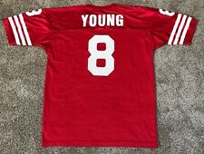 SAN FRANCISCO 49ERS STEVE YOUNG CHAMPION  8 JERSEY FOOTBALL NFL NYLON MENS  48 XL 3260f5489