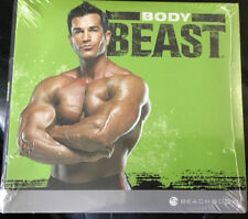 BODY BEAST 4 DVD'S MUSCLE WORKOUT BEACHBODY FIT EXERCISE TRAINING GYM PRESENT