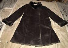 Gerard Darel Faux Shearling Coat Size 42