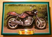 HONDA XBR500 XBR 500 SINGLE CLASSIC MOTORCYCLE BIKE 1980'S PICTURE PRINT 1986