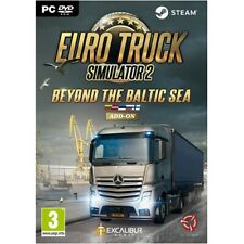 Euro Truck Simulator 2 Beyond The Baltic Sea Add-On [NEW & SEALED] PC Game