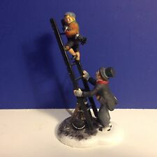 Dept 56 Dickens Village CHIMNEY SWEEP & SON w/ box Combine Shipping!