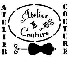 pochoir atelier couture