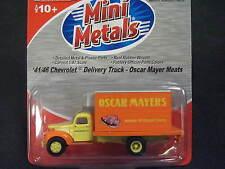 CMW Mini-Metals 1:87 HO-Scale 1941-46 Chevrolet Box Delivery Truck - Oscar Mayer
