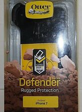 Otter Box Defender Rugged Protection iPhone 7 Black Back and Clip only