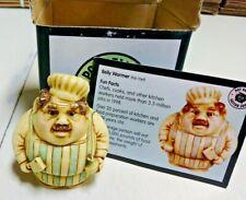 Belly Warmer Chef Harmony Kingdom Pot Bellys Bellies Figurine with Box