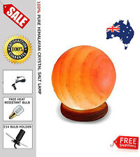 Himalayan Salt Lamp Rock Crystal Round 2 to 3kg